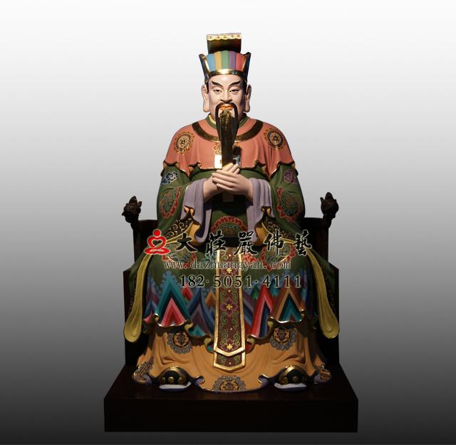 bobapp十殿阎王之八殿都市王彩绘塑像