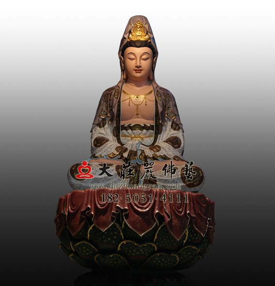 观音菩萨彩绘佛像